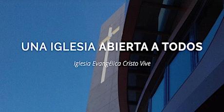 CULTO DE ADORACIÓN CRISTO VIVE HORTALEZA  16 AGOSTO entradas