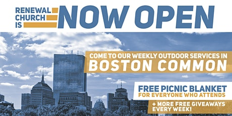 Outdoor Church Service in the Boston Common tickets