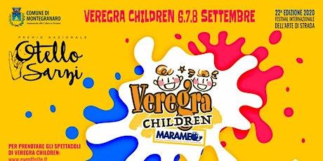 Veregra Children 2020 - Henri e il paese di Noiavia biglietti