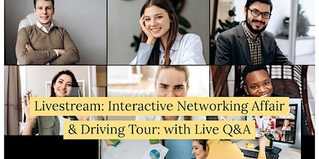 Interactive Networking Affair & Driving Tour: with Live Q&A tickets