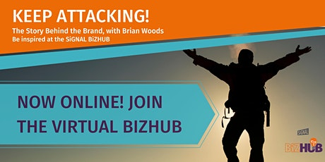 KEEP ATTACKING! THE STORY BEHIND THE BRAND WITH  BRIAN WOODS tickets