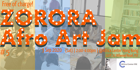 Zorora Afro Art Jam #5 tickets
