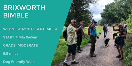 BRIXWORTH DAYTIME WALK | 5.5 MILES | MODERATE | NORTHANTS tickets