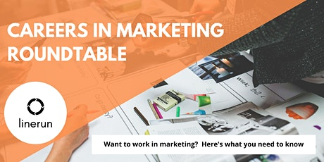 Careers in Marketing Roundtable  | How to Find a Job in Marketing tickets