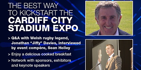 INTROBIZ EXPO NETWORKING BREAKFAST AT CARDIFF CITY STADIUM 2021 tickets
