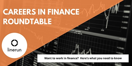 Careers in Finance Roundtable  | How to Find a Job in Finance tickets