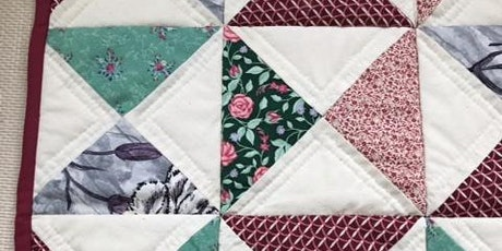 Reverse Patchwork As You Go with Margaret Brown via Zoom tickets