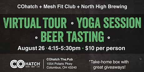Virtual Tour | Yoga Session | Beer Tasting tickets