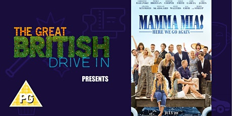 Mamma Mia Here We Go Again (Doors Open at 12:00) tickets