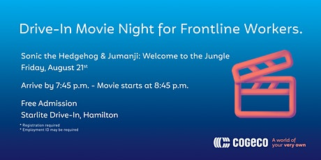 Free Drive-In Movie Night for Frontline Workers tickets