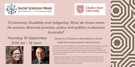 Panel Discussion Christianity, Disability and Indigenity tickets
