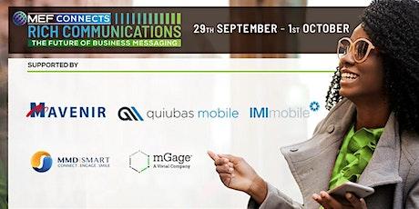 MEF Connects Rich Communications biglietti