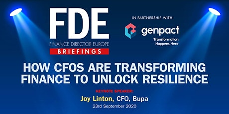 How CFOs are transforming finance to unlock resilience tickets