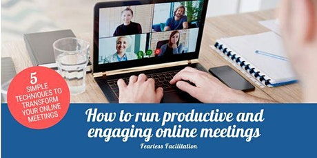 How to run productive and engaging online meetings tickets