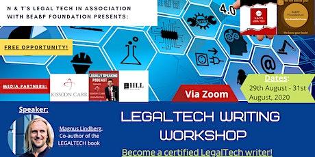 LegalTech Writing Workshop tickets