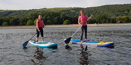 One hour Stand Up Paddleboard Experience, Cheddar Reservoir billets