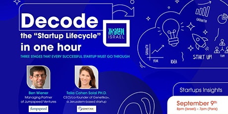 "Decode the ""Startup Lifecycle"" in one hour. tickets"