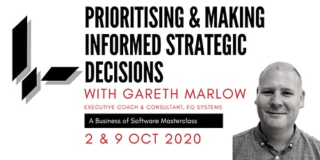 Prioritising & Making Informed Strategic Decisions:A BoS Online Masterclass tickets
