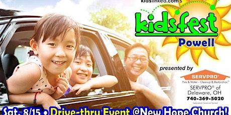 Powell KidsFest Drive Thru edition tickets