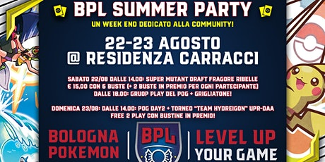 BPL Summer Party 2020 biglietti