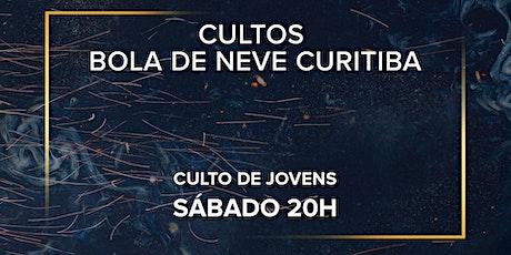 Culto de Jovens Bola de Neve Curitiba - Sábado 20h ingressos