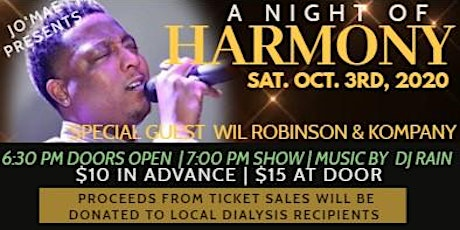 A Night of Harmony tickets