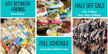 Half Off Shopping - JBF Ann Arbor tickets