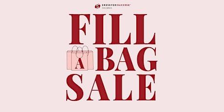Fill A Bag (FAB) Sale - Saturday, November 7th tickets