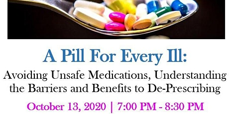 RESCHEDULED:  A Pill for Every Ill tickets