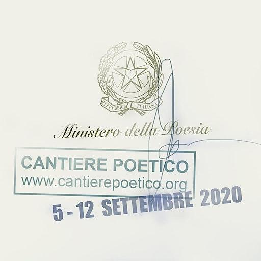 Cantiere poetico per Santarcangelo logo