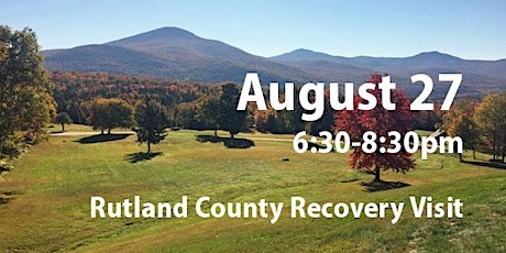 Rutland County COVID Recovery Visit: Recovery to Renewal and Resilience tickets