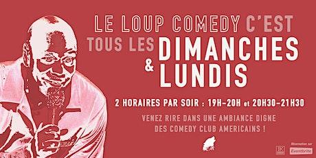 LE LOUP COMEDY  (LUNDI 20H30) billets