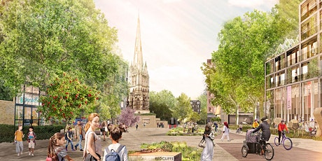 YU Bristol's pedestrianisation plans and the Redcliffe Way vision. tickets