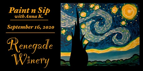 Starry Night @ Renegade Winery! tickets