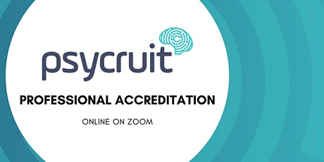 Psycruit Professional Accreditation (Online) tickets