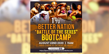 """1% Better Nation """"Battle Of The Sexes"""" Bootcamp tickets"""