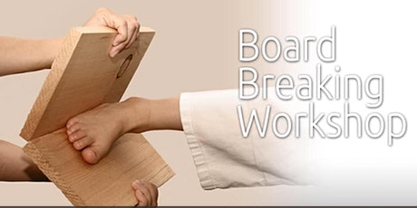 Free Intro to Karate & Board Breaking Lesson! tickets
