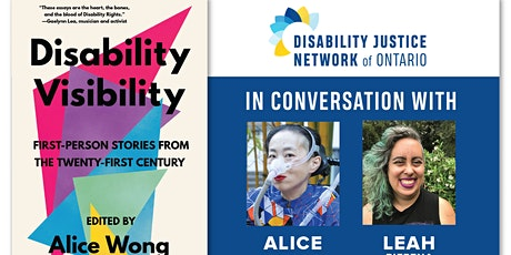 DJNO in Conversation with Alice & Leah: Disability Visibility tickets