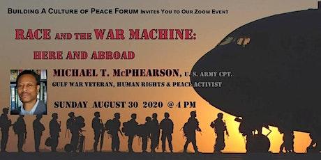 Race & The War Machine tickets