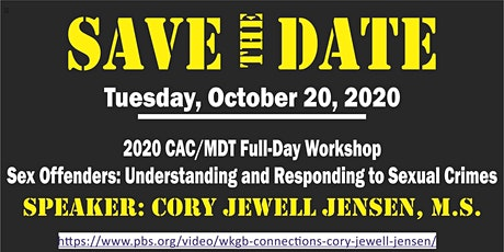 2020 CAC/MDT Full-Day Workshop - Cory Jewell Jensen, M.S. tickets