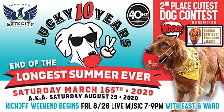 10th Year- End of the Longest Summer Ever Bash Lucky's Roswell tickets
