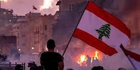 Zumba pour le Liban donation minimale 10$ par personne. Merci tickets