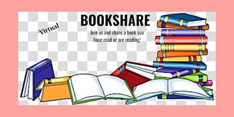 Virtual Book Share tickets