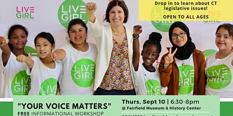 Your Voice Matters - Informational Workshop tickets