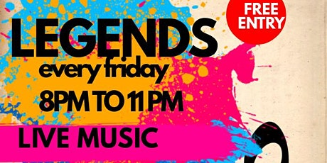 FREE Grown & Sexy Party  at Legends tickets