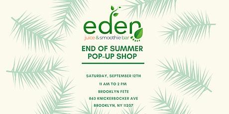 Eden Presents; Black business Pop up Shop tickets