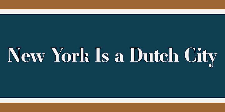 New York is a Dutch City: An Online Conversation image