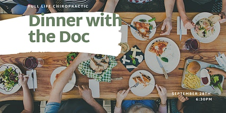 Dinner with the Doc: September 28th tickets