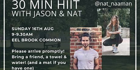 FREE HIIT WORKOUT - EEL BROOK COMMON tickets