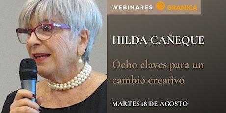 Hilda Cañeque - 8 claves para el cambio creativo boletos